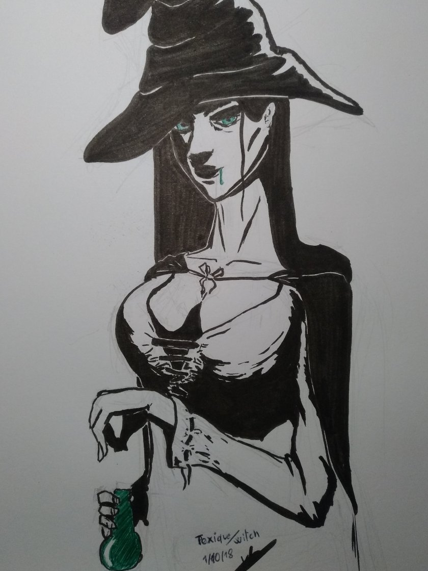 dessin inktober2018 J1